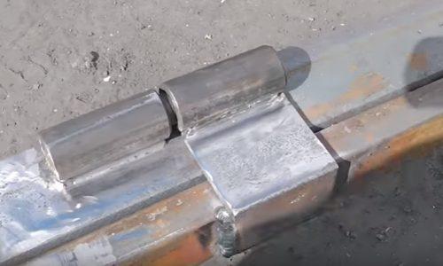 Шарнир для ворот метод монтажа