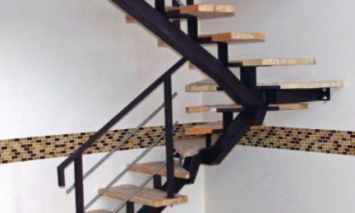Лестница на монокосоуре облегченная