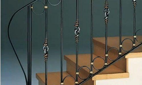 Металлические перила для лестниц своими руками
