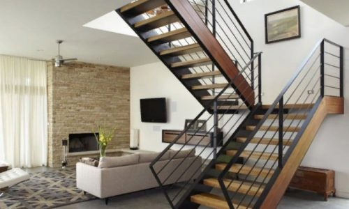 Лестница дизайнерская работа