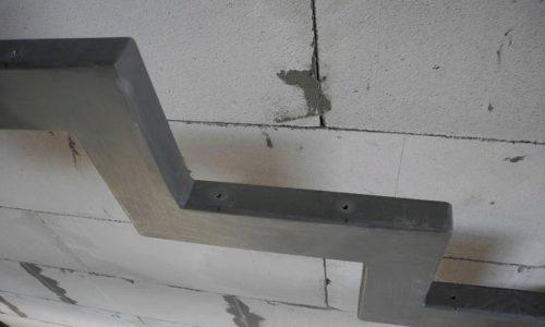 Сверление отверстий под шурупы для крепления ступени